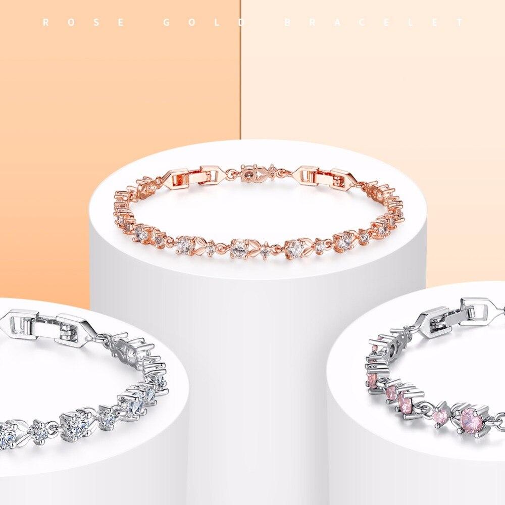 6 Colors Rose Gold Bracelet