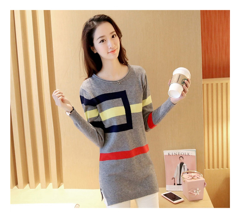 18 DRL sweater women Basic woman sweater pullovers long sleeve Jumper Long Sleeve Sweaters Autumn Winter pull femme hiver 10