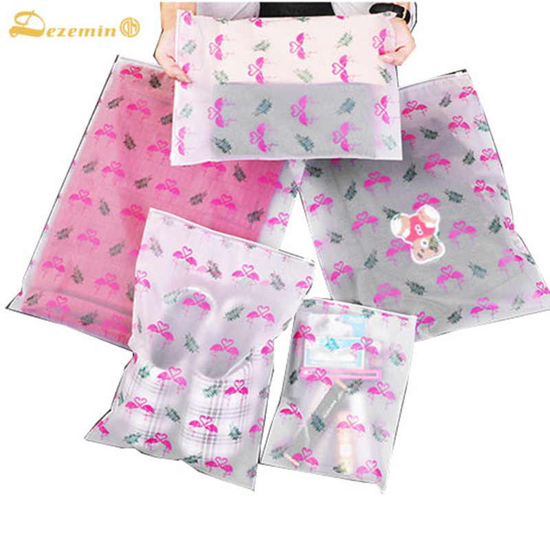 DEZEMIN Bird Animal Packing Organizer For Clothing Shoes Toiletry Storage Pouch For Accessories
