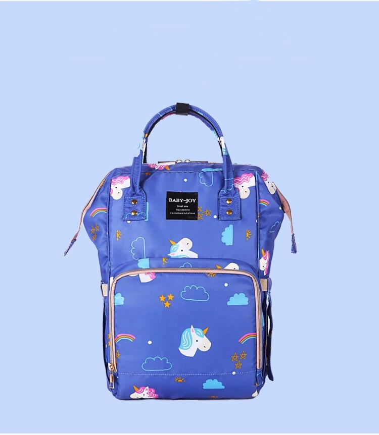 Baby Diaper Bag Mummy Maternity Nappy Bag Large Capacity Unicorn Backpack Nursing Bag Stroller Bag Machila Maternidade