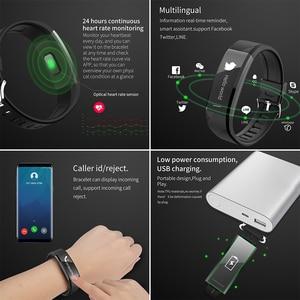 Image 5 - Смарт браслет, водонепроницаемый фитнес браслет, пульсометр, шагомер, трекер активности, монитор сна, Смарт часы