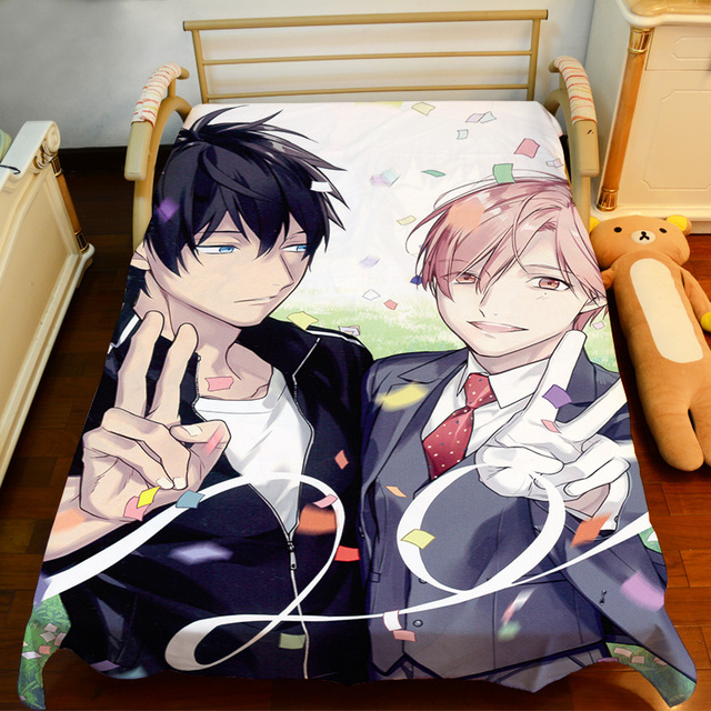 free shipping anime manga ten count bed sheet 150200cm bedsheet