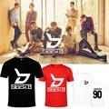 KPOP Corea Moda Bloque. B Álbum BlockB Bloque B ZICO P.O JAEHYO B-BOMB Ropa Camisetas de Algodón Camiseta Camiseta