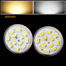 цена на HRSOD 10X GU4(MR11) 6W 12 SMD 5730 570 LM Natural White warm white MR11 LED Spot light  Bulb DC 12 V LED Spotlight led lamp