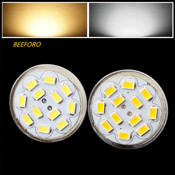 цена на HRSOD 10X GU4(MR11) 6W 12 SMD 5730 570 LM Natural White warm white MR11 LED Spot light  Bulb DC 12 V LED Spotlight led lamp