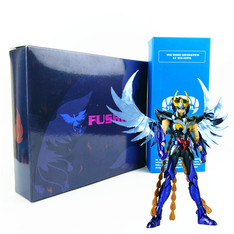 GreatToys GT EX ikki Phoniex Metal armor the five bronze sanits Final Cloth Saint Seiya Myth Cloth Action Figure Collection Toys масло бэй для волос 55 мл dnc масло бэй для волос 55 мл