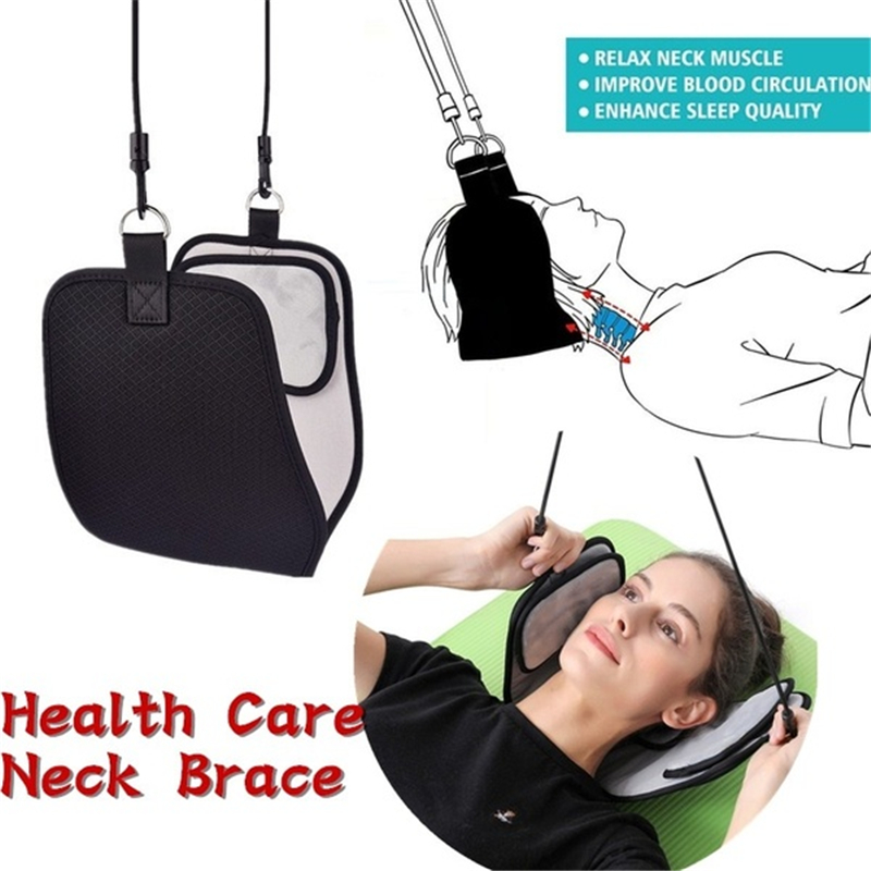 Health Care Neck Brace Headache Back Shoulder Pain Relief Hammock Cervical Neck Traction Device Neck Muscle Massage StretcherHealth Care Neck Brace Headache Back Shoulder Pain Relief Hammock Cervical Neck Traction Device Neck Muscle Massage Stretcher