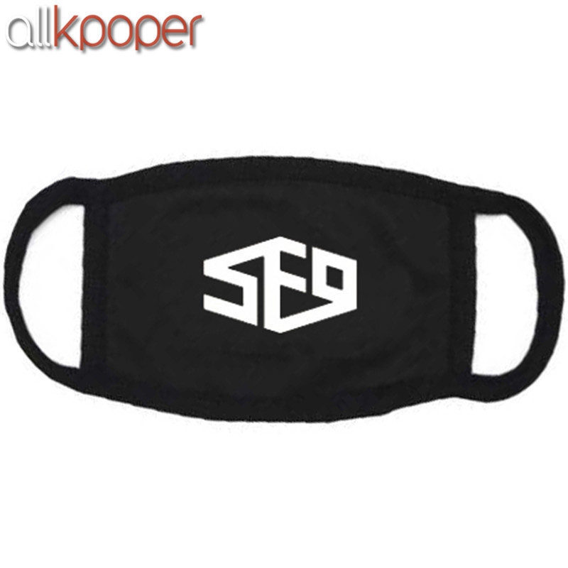 ALLKPOPER Kpop SF9 Feeling Sensation Mouth Mask Muffle Unisex Face Respirator DAWON ZUHO