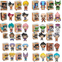 2019 Funko Pop Mini Dragon Ball Anime Super Saiyan Model Toys Collection Vinyl Action Toy Figures Children