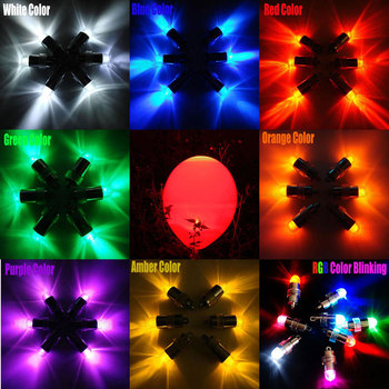 200 pcs/lot led balloon light flashing party lights for Wedding Party Floral decoration Drop Shipping Latex Balloons