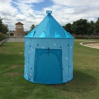 Children Pop Up Play Tent Kids Girl Princess Castle Outdoor House Tent Portable Pink Children Gifts
