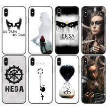 Black tpu case for iphone 5 5s se 6 6s 7 8 plus x 10 case silicone cover for iphone XR XS MAX case Heda Lexa The 100(China)