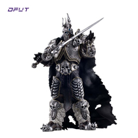 Character WOW The Lich King Action Figure Fall of the Lich King Arthas Menethil 7 inch PVC Toy Figure for children Dota 2