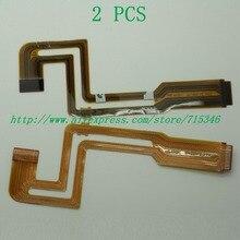 2 pcs/fp 835 12 novo lcd flex cable para sony dcr hc18e dcr hc20e dcr hc30e dcr hc40e hc18e hc20e hc30e hc40e hc16e vídeo câmera