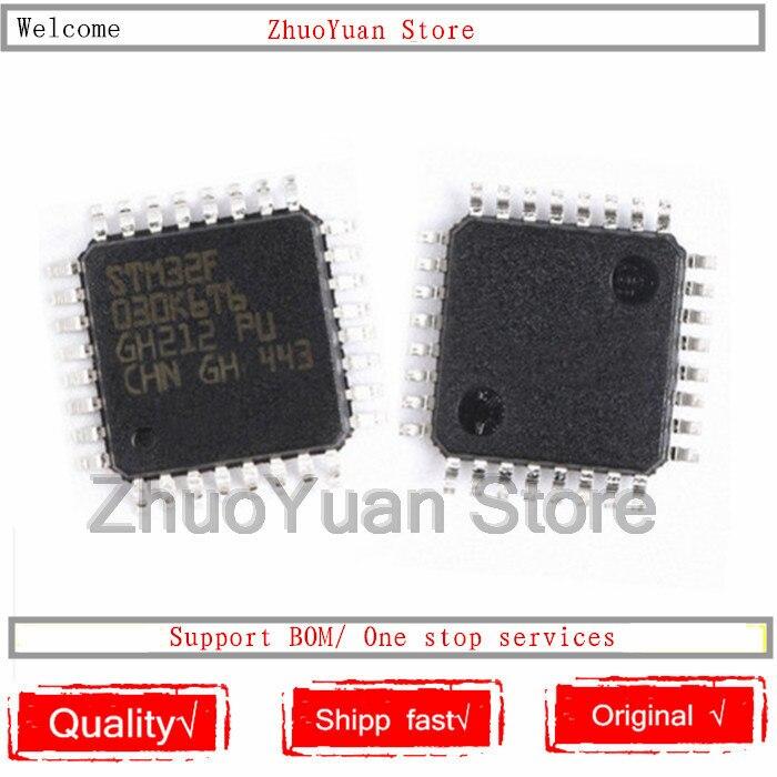 1PCS/lot New Original STM32F030K6T6 STM32F030 LQFP32 IC Chip