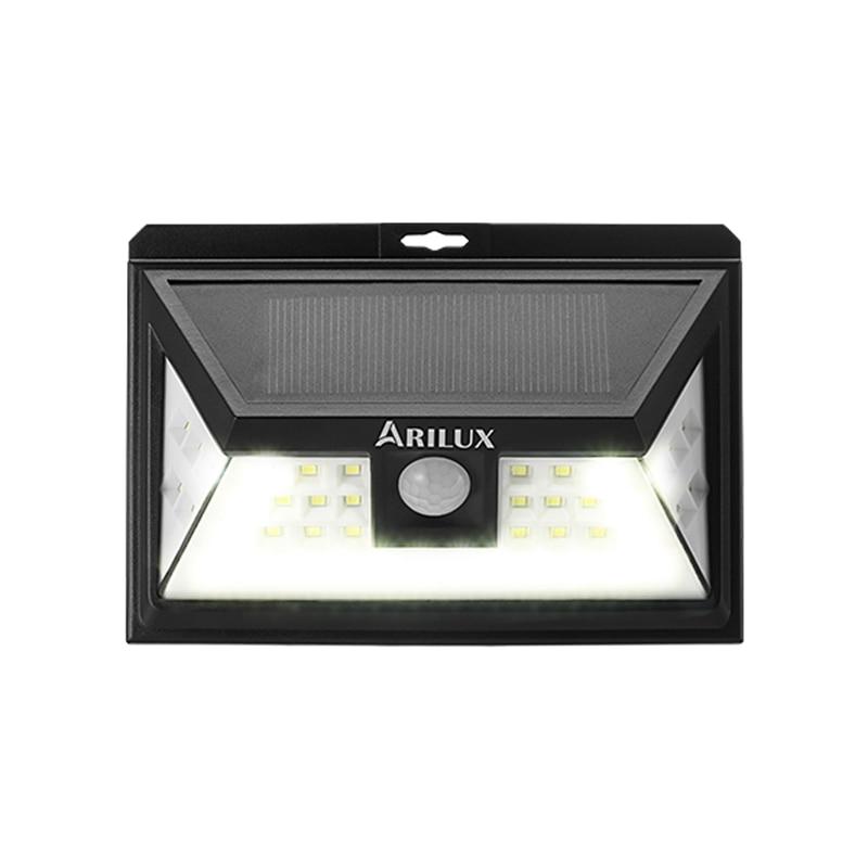 Lâmpadas Solares arilux al-sl11 44 led de Sensor Range : 8-10m
