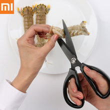 Xiaomi mijia Huohou Scissors knife Kitchen Sharp Shears Flexible Rust Prevention Stainless Steel Clippers For smart home H30(China)