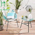 AdMix por diseño/ACAPULCO mezclado estética al aire libre muebles de ratán de diseño moderno silla del patio
