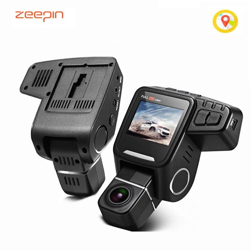 Zeepin t682 Скрытая Видеорегистраторы для автомобилей Камера Новатэк 96650 регистраторы FHD 1080 P вращение объектива WDR GPS петли Запись вождение автом...