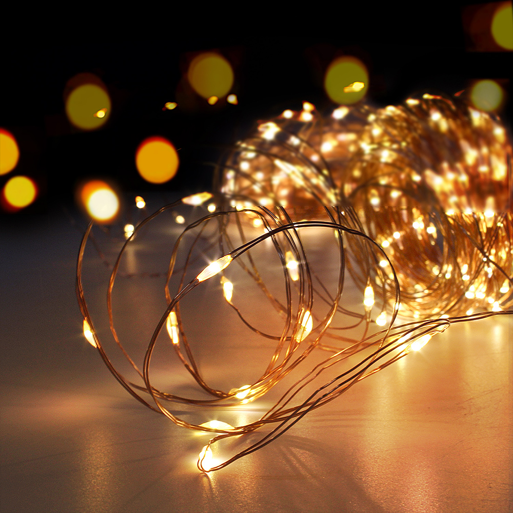 Photo Clip USB LED String Lights Fairy Lights Outdoor Battery Operated Garland Christmas Decoration Party Wedding Xmas (5)