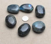 Ten Labradorite Tumbled Stones