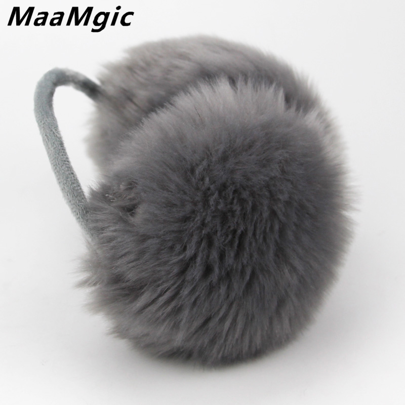 New Plush Female Winter Earmuff Warm Lovers Ear Warmer Plush New Plain Teenage Student Mother Girl Ear Muffs Hot Sale Wholesale