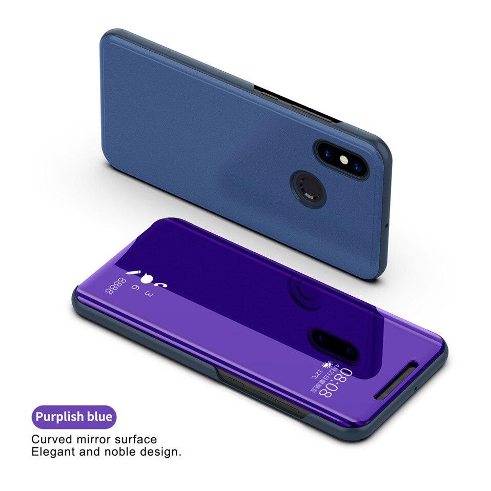Mirror Flip Case For Xioami Redmi Note 7 5 6 pro 11