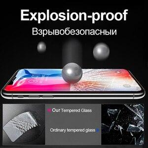 Image 4 - Suntaiho สำหรับ iPhone X XR XS แก้ว iPhone 6S 7 8 PLUS กระจกนิรภัยสำหรับ iPhone 11Pro ป้องกันหน้าจอ 5D ฝาครอบแกะสลัก