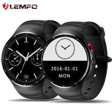 LEMFO MTK6580 LES1 Reloj Teléfono Inteligente Android 5.1 OS 1 GB/16 GB Soporte 3G wifi GPS de la tarjeta SIM Smartwatch con 2.0 MP cámara
