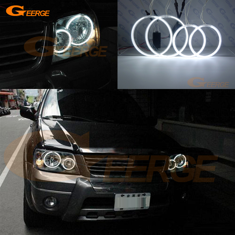 For FORD ESCAPE 2005 2006 2007 Excellent Angel Eyes Ultra bright illumination ccfl angel eyes kit