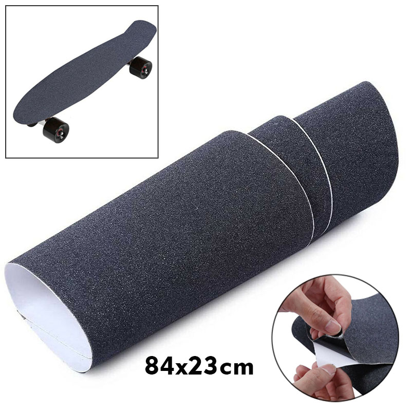 Anti-slip Skateboard Sandpaper Outdoor Skating Sports Abrasive Road Deck Grip Tape Attachment Adhesive Durable