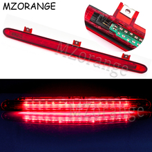MZORANGE Car LED High Mounted Rear Additional Brake Light For Volkswagen VW Touran CC 2005-2015 Parking Warning Stop Lamp