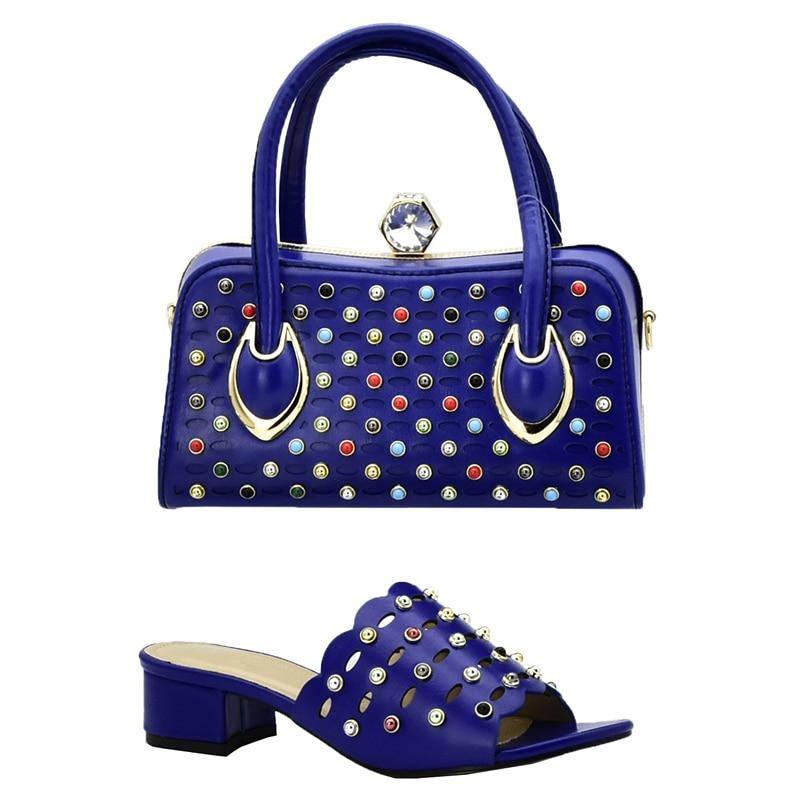Mujeres Bolsos Bolsas Zapatos azul Blue Damas Calidad A Italiano Encuentro Cielo wine Alta Boda Juego De royal Negro oro Nuevo Para Fiesta Y Las Con Cq4pxT