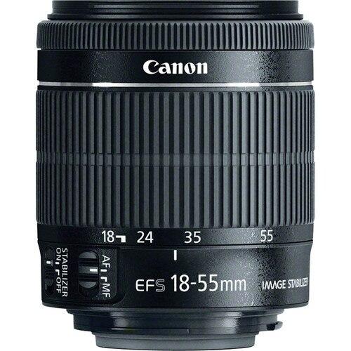Canon  EF-S 18-55mm f/3.5-5.6 IS STM Lens for Canon 1300D 1200D 600D 700D 750D 760D 70D 60D 450D Rebel T3i T5i T6s