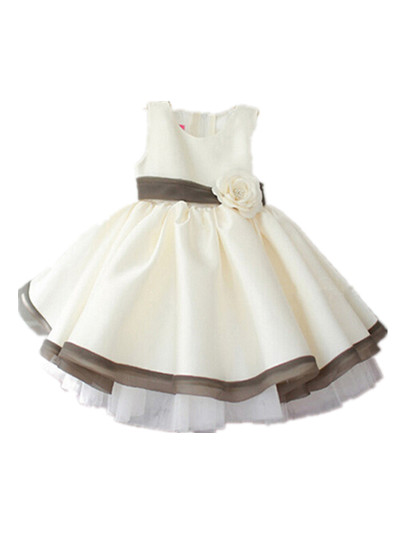 BABY WOW Baby Clothing Baby Girl Wedding Christmas 1 Year Birthday Dress Flower Girl Dresses Clothing
