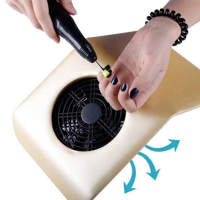 Aliexpress Buy Nail Dust Collector Polishing Vacuum Cleaner