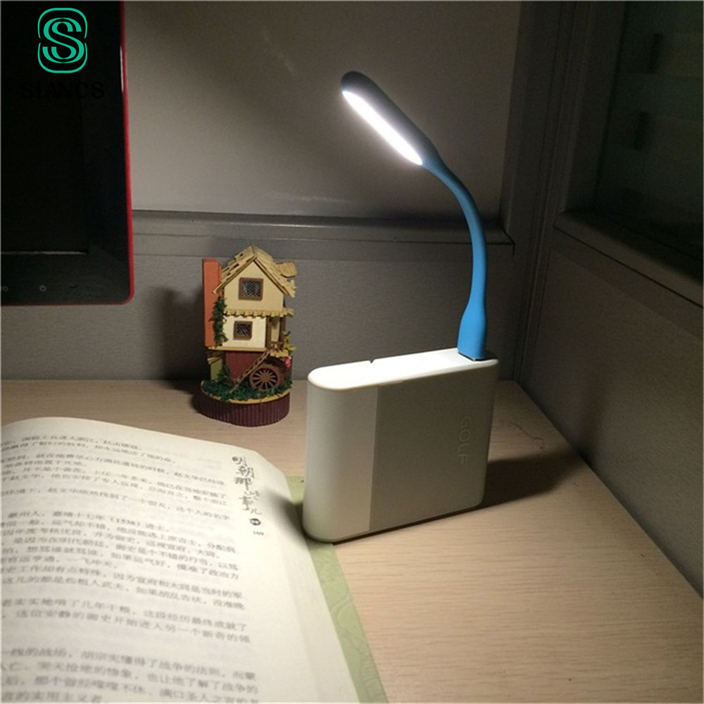 Table Lamp For Power bank PC Mini Flexible USB Led USB Light Android phone OTG cable