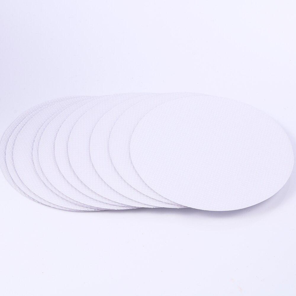 10pcs/Bag Non Slip Shower Round Pad Flooring Home Safety Tape Mat Anti Slip Bath Grip Stickers Applique Mat Treads Bathroom