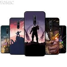 Thanos Avengers Silicone Case for Oneplus 7 7Pro 5T 6 6T Black Soft Case for Oneplus 7 7 Pro TPU Phone Cover