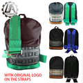 LA racing-JDM style For BRIDE racing backpack Special Design School Bags Used bride fabric and PU leather