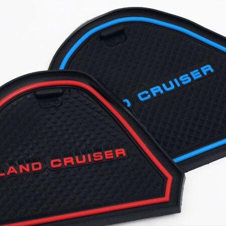 2016 Rubber Non-Slip Interior Door Mat For Toyota Land Cruiser 200 Accessories