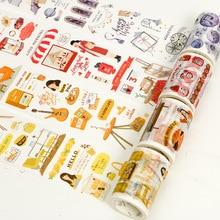 60mm Creative Home Life Series Washi Tape Kawaii DIY Decorative Adhesive Masking Tape Sticker Scrapbook Bullet Journal Supplies