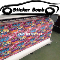 Car Styling Love Sticker Bomb Vinyl Wrap Sticker Bombing Graffiti Vinyl Sticker For Car Wrapping Covers Air Free Bubble