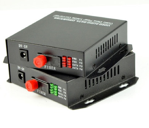 1 Pair 2 Pieces/lot 2 Channel Video Optical Converter Fiber Optic Video Optical Transmitter & Receiver