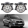 Car-Styling For Peugeot Partner Tepee 2008-2015 9-Pieces Led Fog Lights H11 H8 12V 55W Fog Head Lamp
