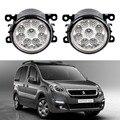 Carro-Styling Para Peugeot Partner Tepee 2008-2015 Escolhas 9-pieces Levaram Luzes de Nevoeiro H11 H8 12 V 55 W Fog Head Lamp