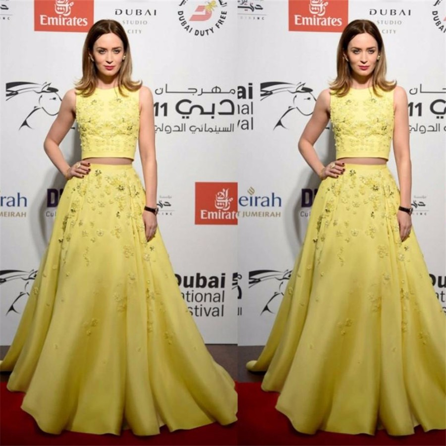 Two-Pieces-Modest-2016-Evening-Dresses-Floral-Embroidered-Modest-Limelight-Yellow-Dubai-Party-Celebrity-Gowns (1)