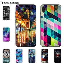 I am alone Phone Cases For Lenovo S5 Pro 6.2 inch Black Solf
