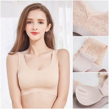 bbde3e299f4dc Sexy Women Back Lace Cotton Cozy Tube Tops Sexy Casual Breathe Crop Tops  Solid Color Sleep