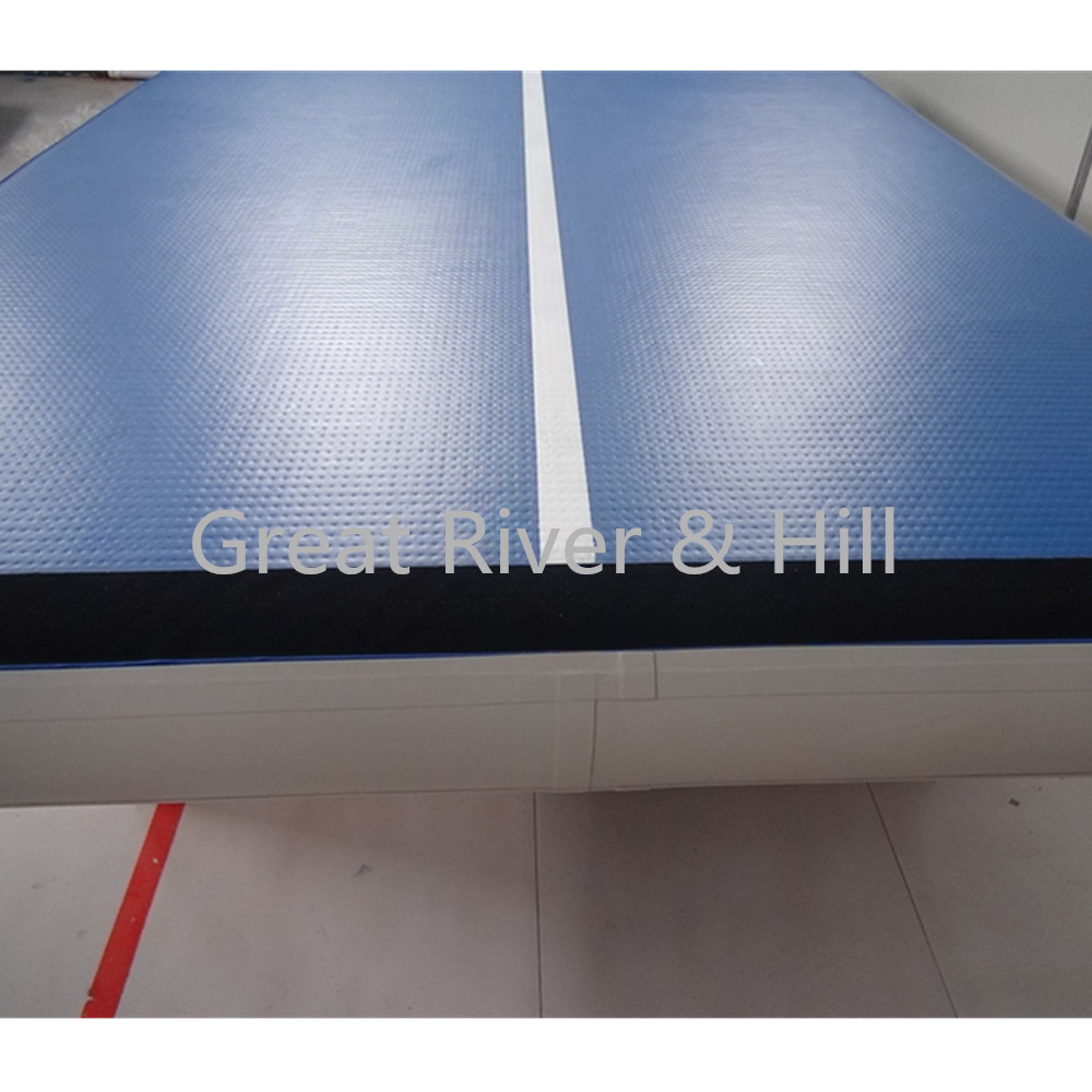 Great river & hill training mats air track good bounce with fedex shipping 5m x2m x20cm